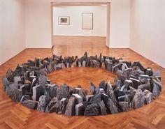Richard Long : CORNWALL SUMMER CIRCLE  #art