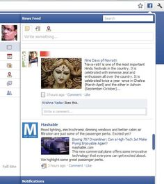 Update Status Updates/View News Feed/Get Notifications Without Going to Facebook