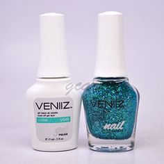 Veniiz Match UV Gel Polish V040 Lustre Glitter ** Want additional info? Click on the image. (This is an affiliate link) #NailPolish
