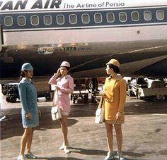 1960s iran   Iran Air Flight Attendants I