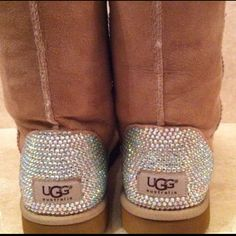 Sparkly UGG boots! Love these