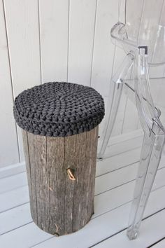 Cat Furniture, Unique Furniture, Cozy Cottage, Cottage Style, Timber House, Wooden Blocks, Crochet Home, Handmade Home Decor, Decorating Tips