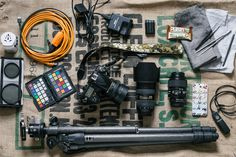 Food and travel photographer Sarka Babicka opens up her camera bag to show us the tools she uses to capture delicious images.