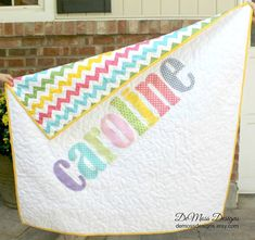 Personalized Name Quilt Appliqued Quilt by DeMossDesigns on Etsy, $98.00 I want this for baby boy!! so bad!