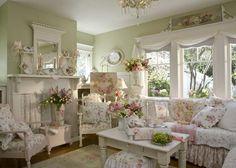 modern interiors, home decor ideas in provencal style