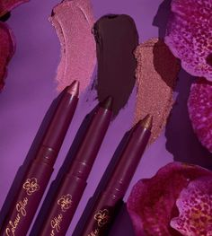 Makeup News: ColourPop Orchid Makeup Collection Release Date 2021 The new ColourPop Cosmetics Orchid Makeup Collection is coming soon — a new special-edition makeup collection inspired by orchid flowers and purple tones. The Orchid Collection includes: an eyeshadow palette, liners, lipsticks, blushes, and shimmer body powder. ColourPop Orchid Makeup Collection Release Date... Makeup News, Colourpop Cosmetics, Body Powder, Beauty News, Beauty Industry, Makeup Collection, Lipstick, Eyeshadow Palette, Orchids