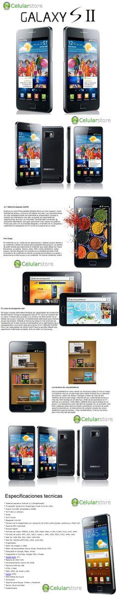 Samsung Galaxy S2 i9100 Libre - Celular Store