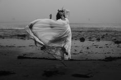 Brooke Shaden : Embracing the Unexpected Story Inspiration, Character Inspiration, Hair In The Wind, Wind Hair, Oil Spill, Beach Shoot, Black And White Aesthetic, Outdoor Portraits, Reference Images