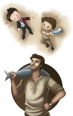 Uncharted 3 - Ultimate Weapon by ~RBlakeArt on deviantART. This was probably the greatest moment in video game history.