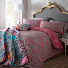 Butterfly Home by Matthew Williamson Pink 'Toile' bedding set- at Debenhams Mobile