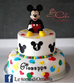 Topolino, Mickey mouse cake