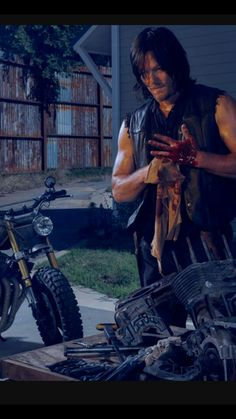 "Daryl (and then I see this and go...""NORMAN IS GOD!!"""