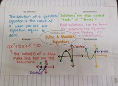 Math = Love: Solving Quadratics by Graphing