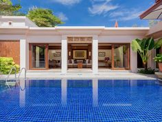 Why you love it: Designed as a Thai-style village and built on rehabilitated wasteland, Banyan Tree Phuket resort not only fringes a saltwater lagoon and the beaches of Thailand's Bang Tao Bay, but its open-air lobby frames a shallow water court—an ideal backdrop for a nightcap. Each low-rise villa has his-and-hers dressing areas, an open-air sunken bath, teak-framed floor-to-ceiling windows, and its own pool. Book one of the two-bedroom signature pool villas, and you'll have real estate…