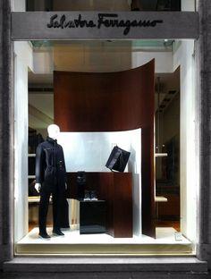 e614660786dac Salvatore Ferragamo AW window 2013, Roma, Lo Studio design  www.lostudiodesig.. Ventanas De TiendaSalvatore Ferragamo