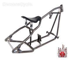 Sportster 250 rigid bobber frame.