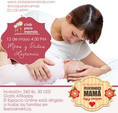 Charla online: Mitos y dudas sobre lactancia materna 12/05 (280 Bs. Disculpen el error)