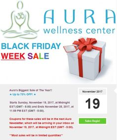 Black Friday Week ★ Sale AnnouncementTraining Courses, Training Tips, Yoga Teacher Training Course, Wellness Center, Black Friday, Coupons, Coupon