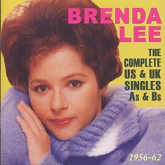 Brenda Lee did as much as anyone in easing the divisions between pop, country, and rock & roll in the early and and while she had little chart success after the decade ended, her catalog fro Brenda Lee, Classic Rock And Roll, The Big Hit, Female Stars, Country Singers, Female Singers, All About Time, Cool Things To Buy, How To Memorize Things