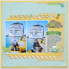 A layout by the wonderful Jana Eubank!