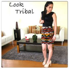 Outfit estilo tribal