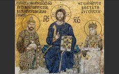 Mosaico della Basilica di Santa Sofia.