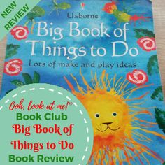 Ooh, look at me! - Christmas Book Club - Book Review Big Book of Things to Do by Usbourne