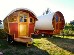 How to make a gypsy trailer!