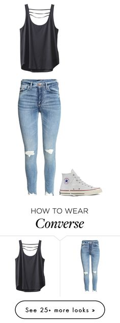 """Untitled #548"" by madelin-ruby on Polyvore featuring Kavu and Converse"