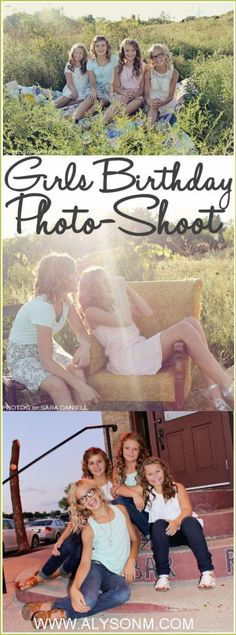 Girls Birthday Party Idea: Photography