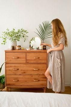 Check out Wren Rattan Dresser from Urban Outfitters Home Decor Bedroom, Wood Media Console, Modern Bedroom Design, Furniture, Home Furniture, Dresser Decor, Bedroom Design, Boho Living Room, Home Decor