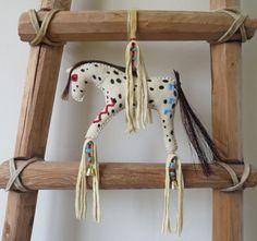 Native American Indian Appaloosa spirit horse by MokiTradingPost