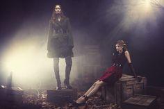 A Fashion Fairytale | Iekeliene Stange, Rosemary Smith | Bruno Dayan #photography | Net A Porter Spring/Summer 2012
