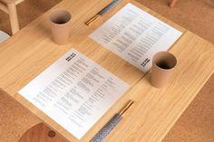 Future Future: A New Type of Japanese Restaurant [Melbourne] – Trendland Online Magazine Curating the Web since 2006 Japanese Restaurant Menu, Japanese Menu, Japanese Paper, Menu Restaurant, Print Layout, Layout Design, Coffee Design, Hospitality Design, Aesthetic Design