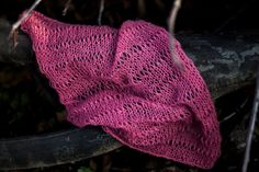 Baby Garnet Luxury hand knitted Mohair wrap by GabriCollection