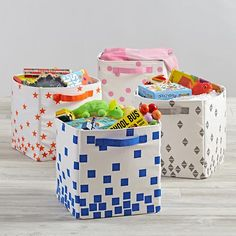 Scatter Print Small Bin  | The Land of Nod