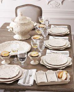 "Juliska  ""Jardins du Monde"" Dinnerware"