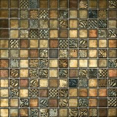 Glass Mosaic Tiles Picture – Contemporary Tile Design Magazine