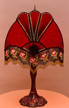 Victorian Lampshade For Floor Lamp ★ Bohemian Boho