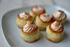 paštičky z listkového těsta Mini Cupcakes, Muffin, Candy, Breakfast, Bar, Food, Scrappy Quilts, Diet, Morning Coffee