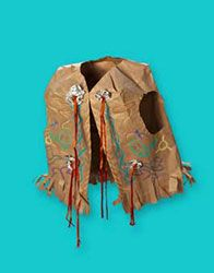 this would be a good idea for Lane's cowboy party...make cowboy vest out of brown paper sacks :)