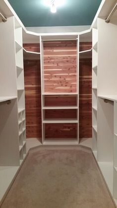Anyone Can Do This With The Right Plans Diy Woodworking How To Use Cedar Lined Walk In Closet