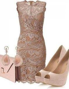 Lace short dress #bridesmaid dresses #bridal dresses