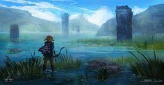 Lake Hylia - Zelda Open World by Mei-Xing on DeviantArt