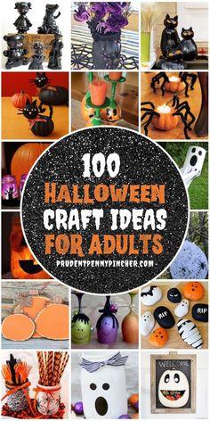 Spooky Halloween Crafts, Fete Halloween, Diy Halloween Decorations, Outdoor Halloween, Halloween Centerpieces, Holidays Halloween, Halloween Stuff, Halloween Activities, Adult Halloween