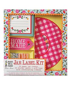 Love this Jar Labeling Kit on #zulily! #zulilyfinds
