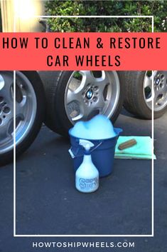 The best step by step guide to clean car wheels and tires for sale. Rims For Cars, Rims And Tires, Wheels And Tires, Car Wheels, Car Cleaning, Cleaning Hacks, Tires For Sale, Discount Tires, Schedule Printable
