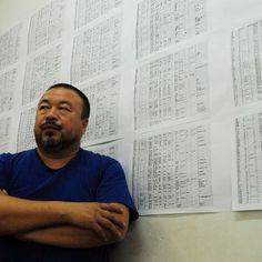 ArtAsiaPacific: Ai Weiwei Challenges Chinas Government Over Earthquake Wei Wei, Ai Weiwei, English Language, Cool Things To Buy, Contemporary Art, Art Pieces, Challenges, Names, China