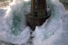 Jesus is the lighthouse in the storm
