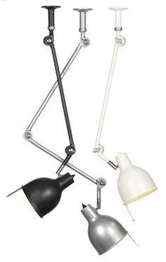 Lampa PJ50 - podwójne ramię - różne kolory
